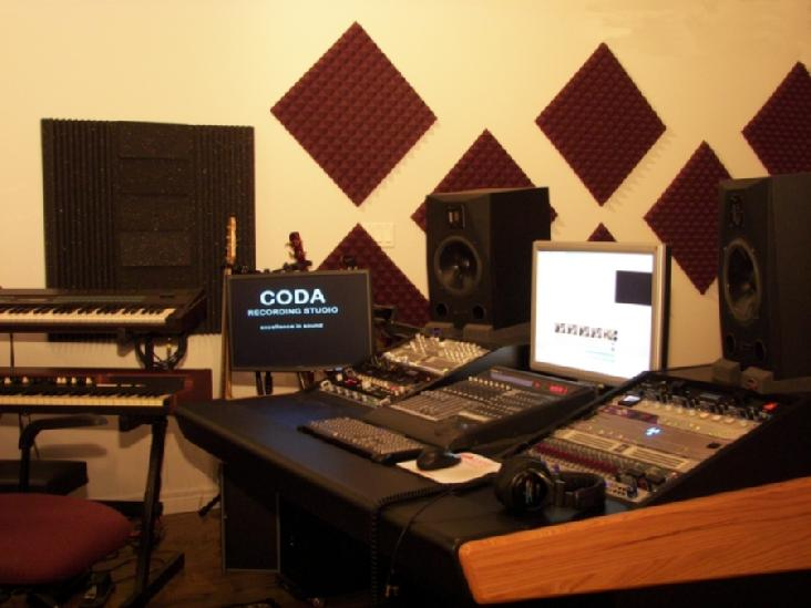 Groovy Coda Recording Studio Big Studio Sound At Rates That Rock Largest Home Design Picture Inspirations Pitcheantrous
